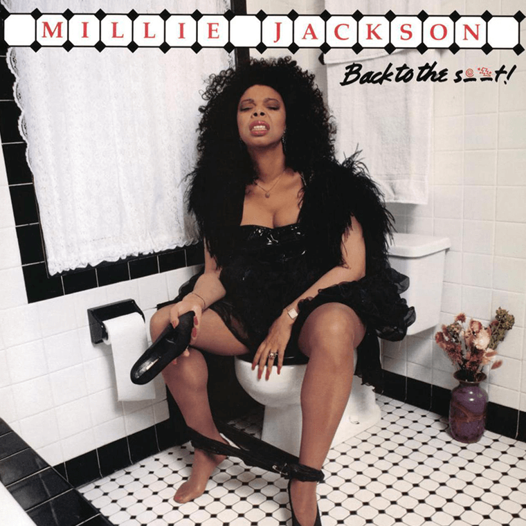 Millie Jackson on the loo, what was she thinking?