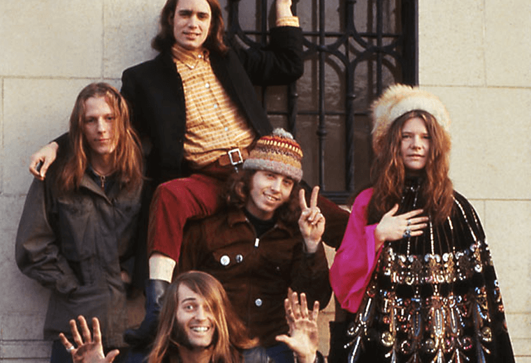 Big Brother and the Holdiing Company with Janis Joplin, San Francisco 1967.