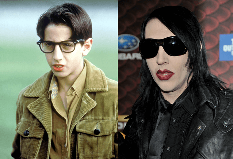 Paul Pfeiffer and Marilyn Manson