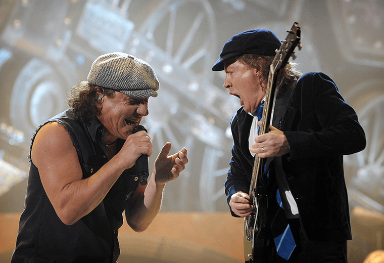 AC/DC fail to predict a riot