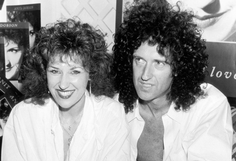 Anita Dobson, married to Bryan May.