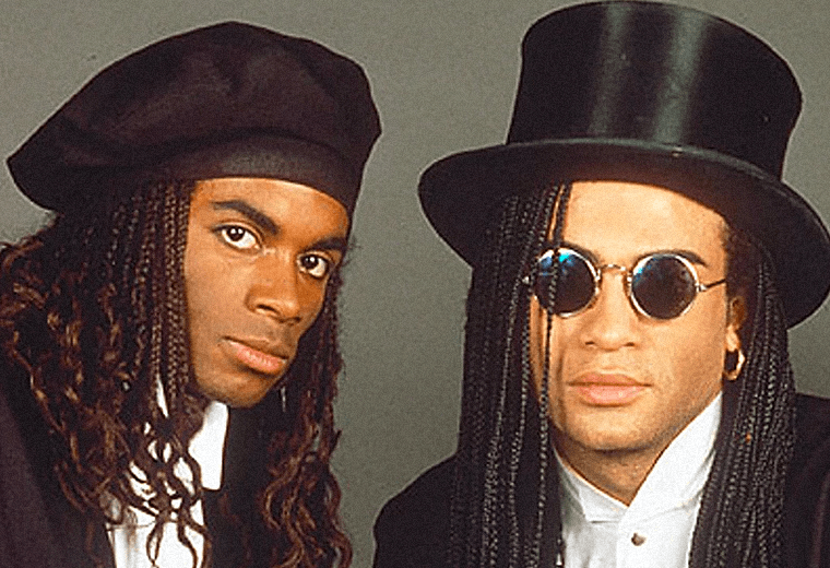 Milli Vanilli, they hadn't actually sung a single word on any of their records.
