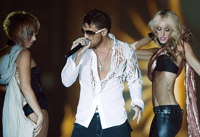 Peter Andre's Mysterious Girl is a real earworm.