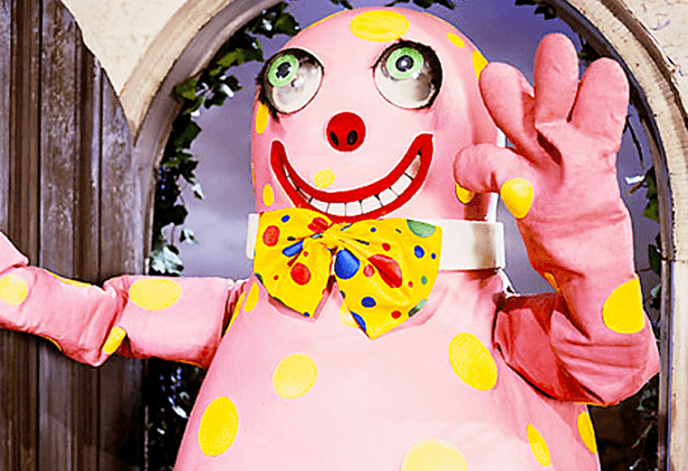 Mr Blobby terrorised the radio waves in Christmas 1993.