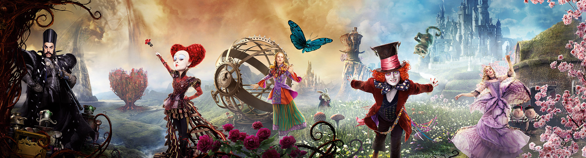 Alice Through The Looking Glass – available now on Virgin Movies