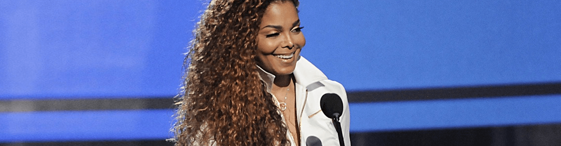 Janet Jackson at the BET awards 2015.
