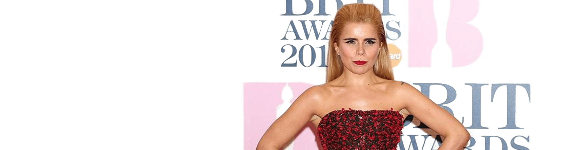 Paloma Faith wins the Best Female Solo Artist at the Brit Awards 2015.