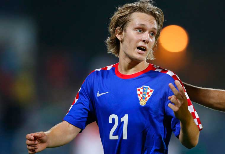 Alen Halilovic registered five assists in La Liga last season during a loan spell with Sporting Gijon.
