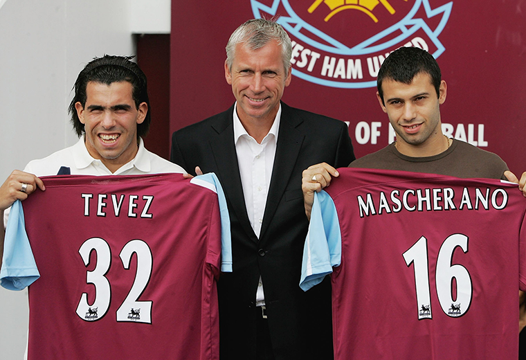 Tevez amd Mascherano: Two of the most promising young prospects in world football in 2006.