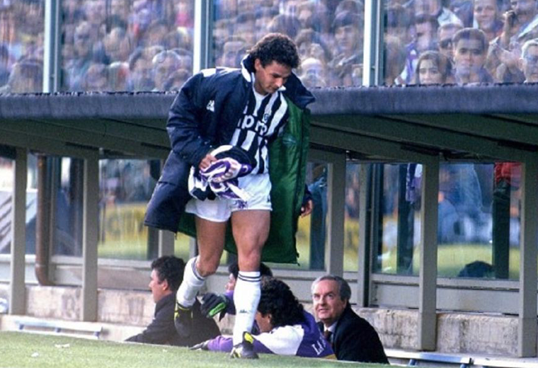 Roberto Baggio's move to Juventus caused riots in the streets that left many injured.