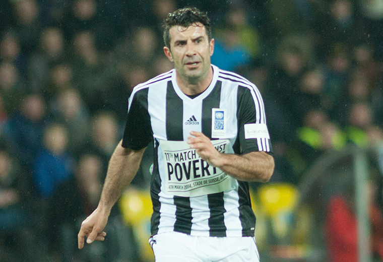 Luís Figo moved to the Bernabeu in 2000, for a world record fee of £37 million.