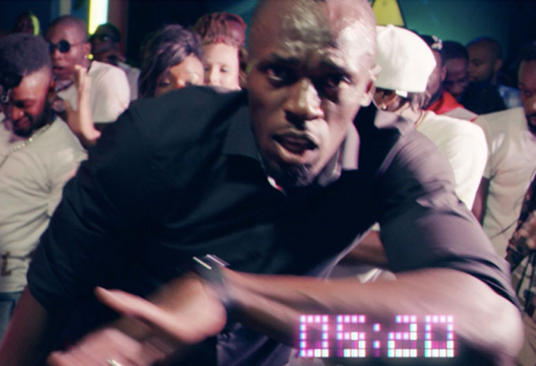 Be the fastest feat. Usain Bolt music video