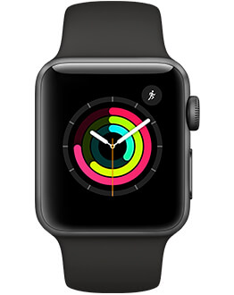 Apple Watch Series 3 in black