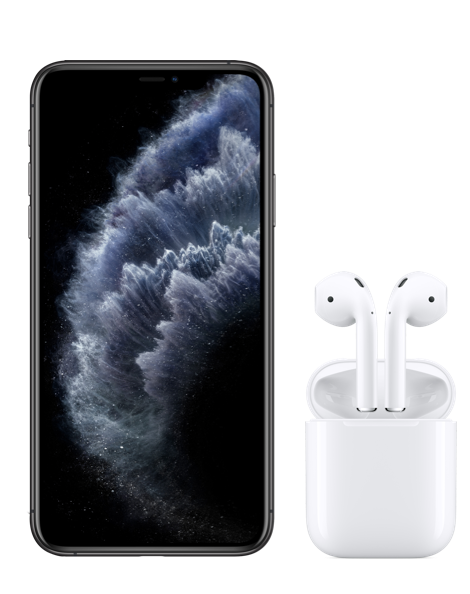 Iphone 11 Pro Max And Airpods