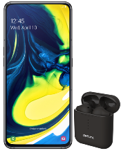 Samsung Galaxy A80 & defunc headphones
