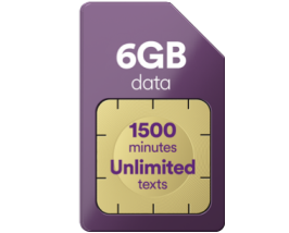 6GB data for just £9 a month