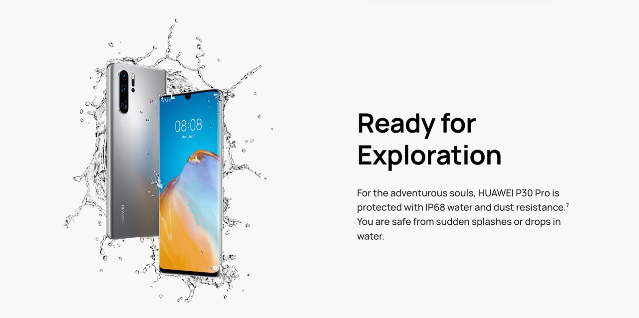 Huawei P30 Pro New Edition features