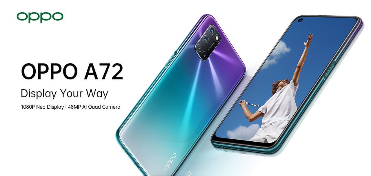 OPPO A72 features