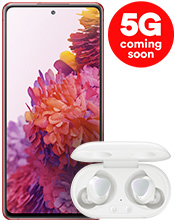 Samsung S20 FE 5G and Galaxy Buds+