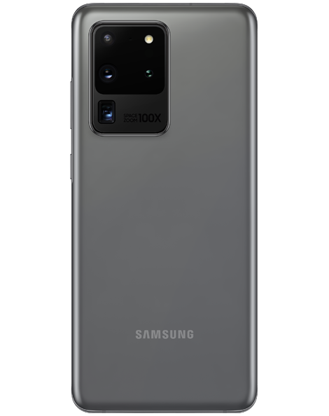 Samsung Galaxy S20 Ultra 5G Cosmic Grey back view