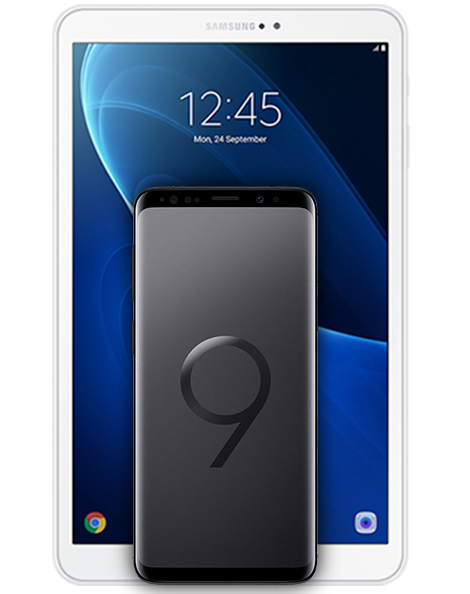 samsung galaxy S9 midnight black