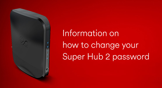 Virgin Media Super Hub 2 Router Security
