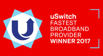 uSwitch fastest broadband