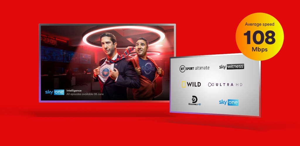 The Bigger bundle with Virgin Media