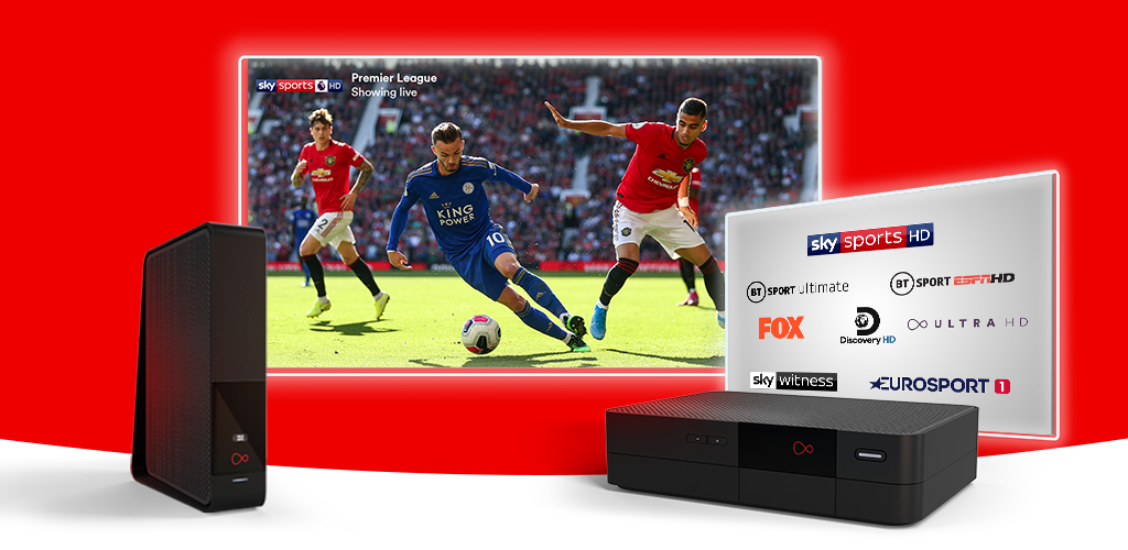 Compare Sky Sports TV packages