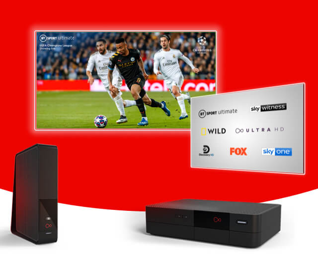 TV, broadband & phone bundles with Intelligent WiFi from Virgin Media