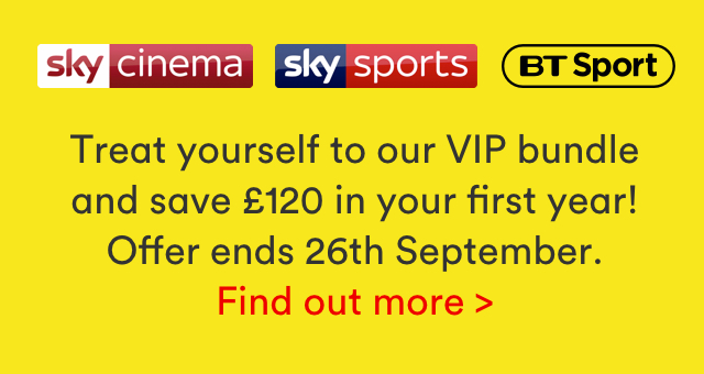 VIP bundle for £79 with Virgin Media flash sale