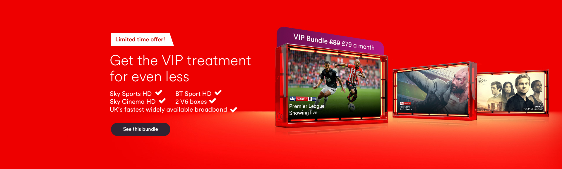 Switch to Super with Virgin Media now with ultra HD