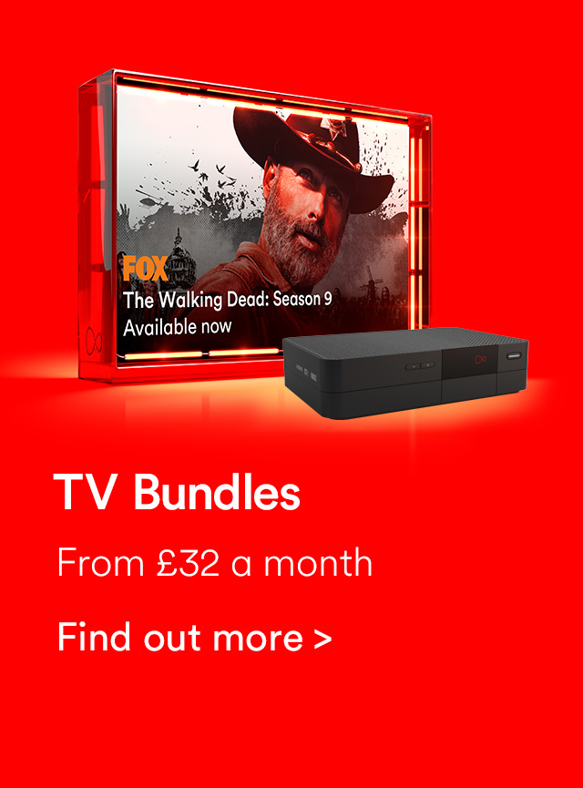 Tv bundles from Virgin Media