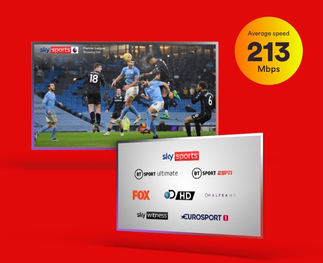 Bigger Sports bundle with Virgin Media