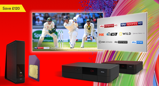 The Ultimate Oomph bundle with Virgin Media