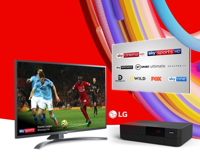 Enjoy a free 43 inch 4K LG Smart TV worth £329 on selected bundles