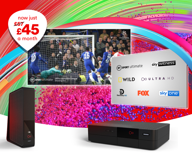 Our TV, broadband and mobile deals are flipping great!