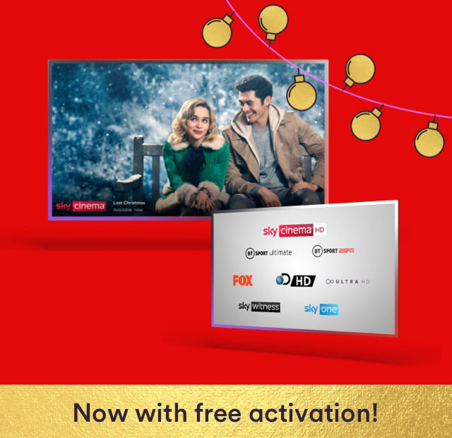 Get the Bigger Movies bundle with M200 ultrafast fibre broadband for just £57 a month