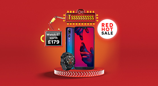 Get a free Watch GT worth £179 with the Huawei P20 Pro