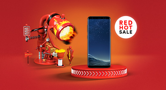 Save £144 on the Samsung Galaxy S8