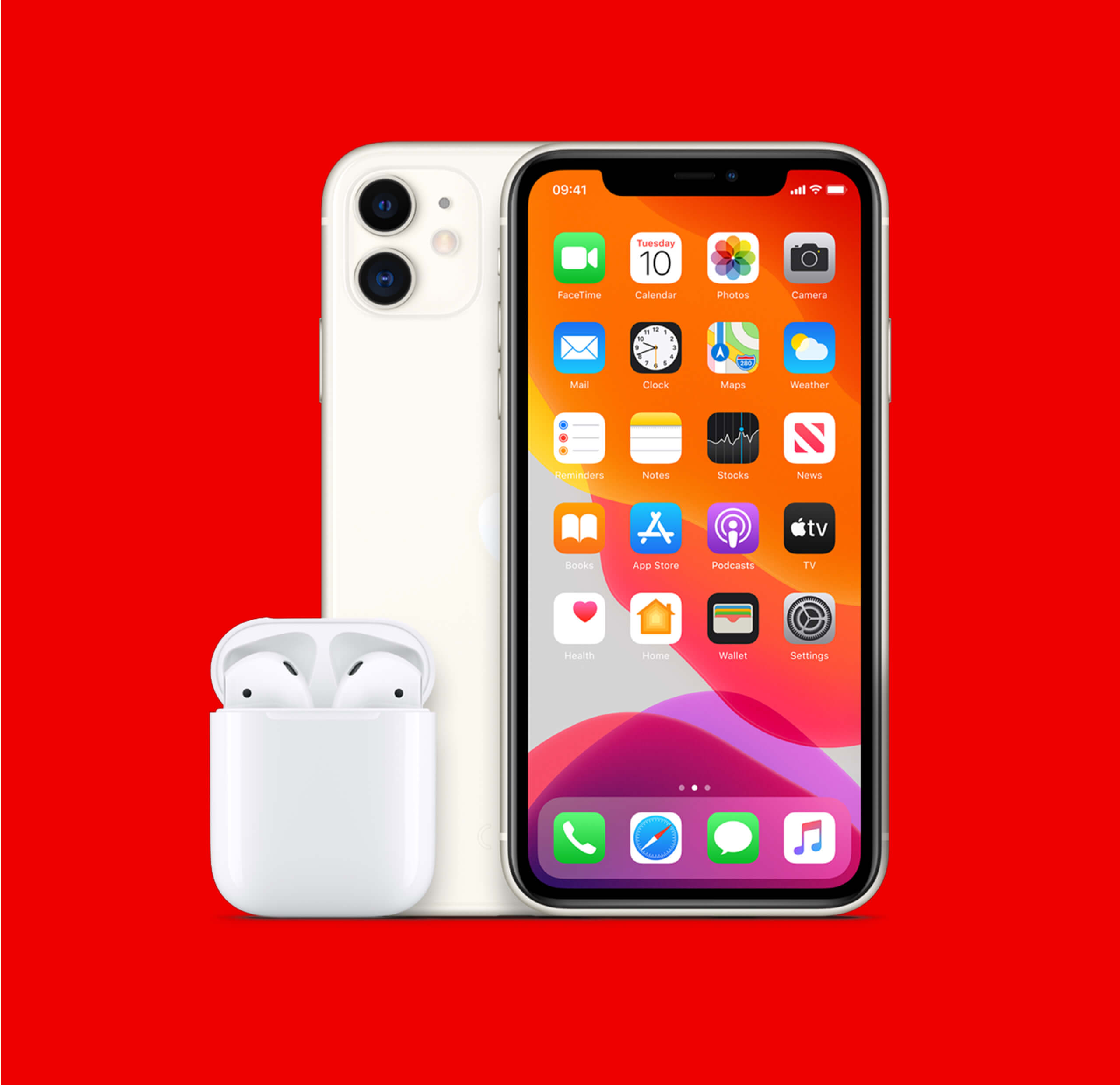 iPhone 11 and Airpods from £33 a month