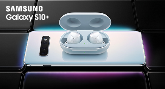 Pre-order the Samsung Galaxy S10 or S10+ and claim a pair of wireless Galaxy Buds