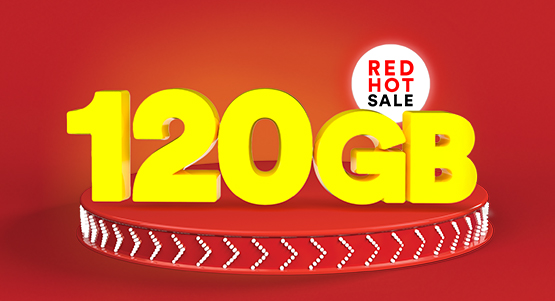 120GB for just £20!