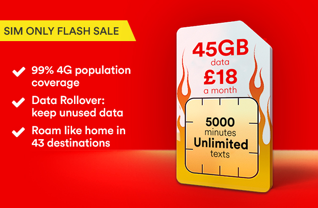 Go XXXL with our triple data offer
