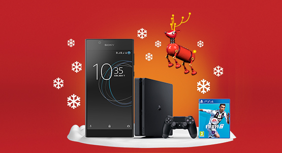 The Sony Xperia L1 with PS4 bundle