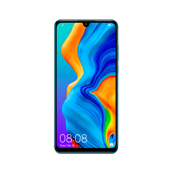 Huawei P30 Lite in Peacock Blue