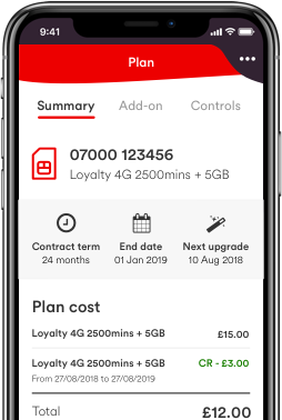 Virgin Mobile app