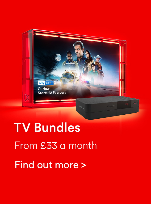 Virgin TV bundles from £33 a month