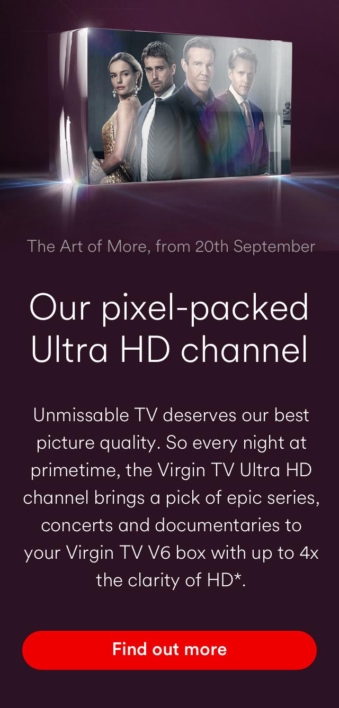 Virgin TV | Packages & Deals | Virgin Media