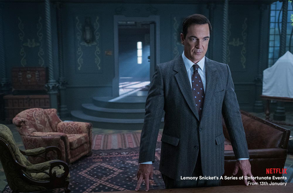 Lemony Snicket's A Series of Unfortunate Events on Netflix with Virgin TV